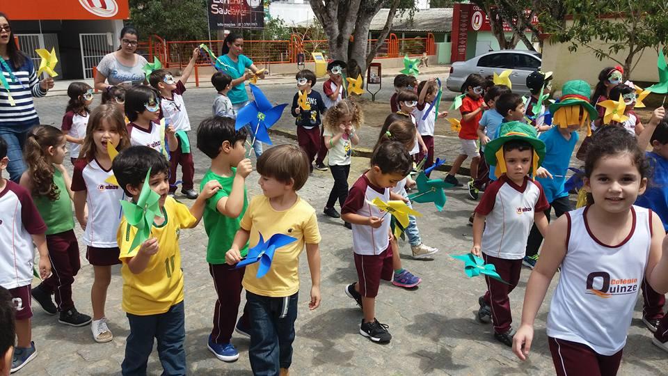 Semana da Pátria- Hasteamento da Bandeira - Ensino Infantil e Fundamental I